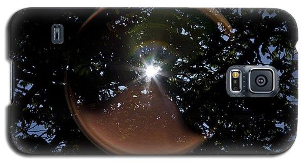 Galaxy S5 Case featuring the photograph Sun Flair by Maj Seda