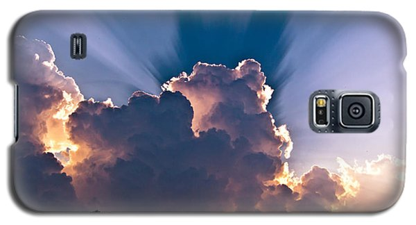 Sun Rays And Clouds Galaxy S5 Case