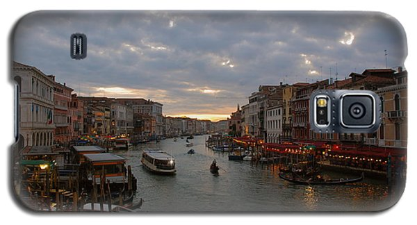 Sun Sets Over Venice Galaxy S5 Case by Eric Tressler