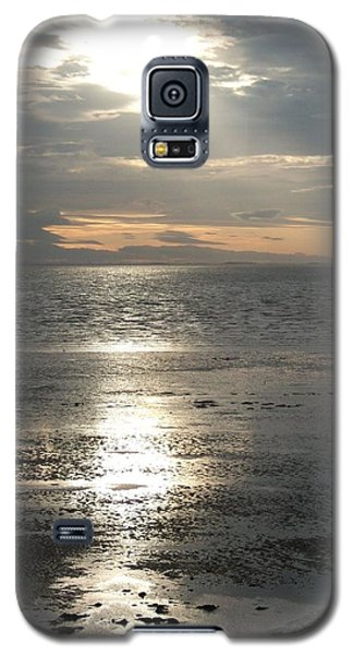 Sun Setting Over Spurn Point Galaxy S5 Case