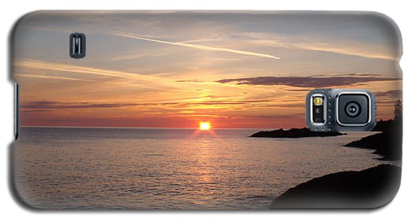 Galaxy S5 Case featuring the photograph Sun Up On The Up by Bonfire Photography