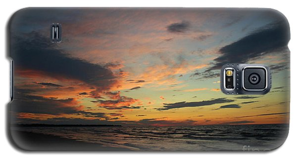 Galaxy S5 Case featuring the photograph Sundown  by Barbara McMahon
