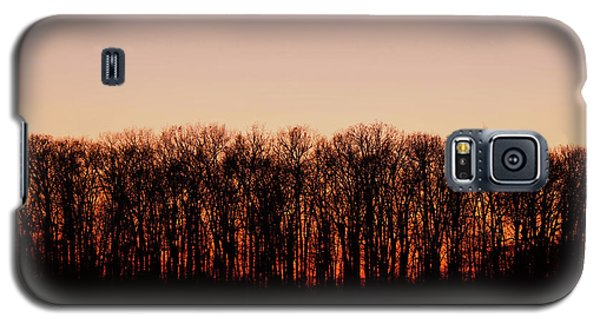 Galaxy S5 Case featuring the photograph Sundown In Silhouette by Rachel Cohen