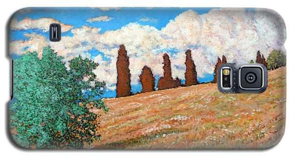 Galaxy S5 Case featuring the painting Sundown by Tom Roderick