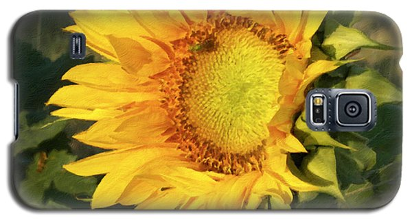 Galaxy S5 Case featuring the digital art Sunflower Digital Art by Deniece Platt