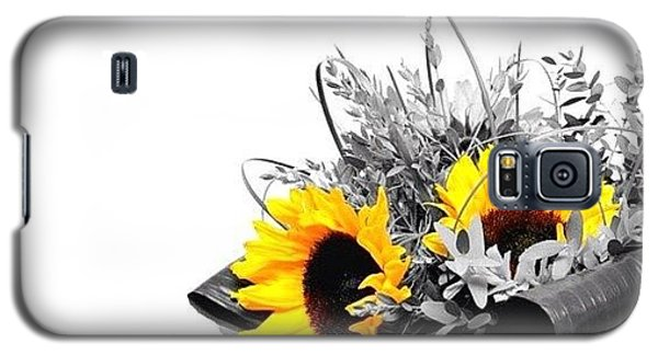 Ignation Galaxy S5 Case - Sunflower by Mark B