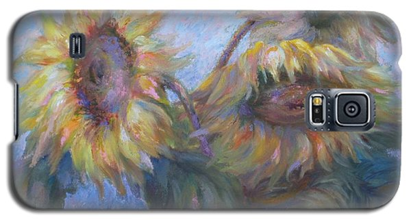 Sunflowers Galaxy S5 Case by Bonnie Goedecke