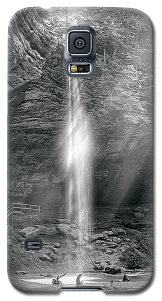 Galaxy S5 Case featuring the photograph Sunlight Falls by Mary Almond