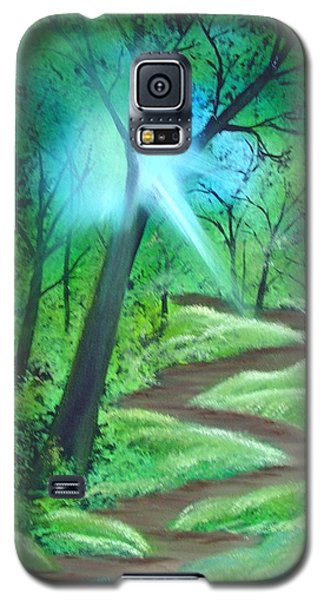 Sunlight In The Forest Galaxy S5 Case