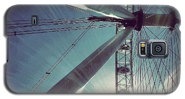 Sunnd Day In London, London Eye Galaxy S5 Case by Abdelrahman Alawwad