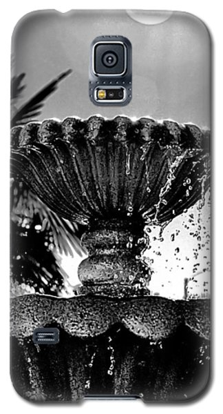 Sunny Fountain Galaxy S5 Case by Bob Wall