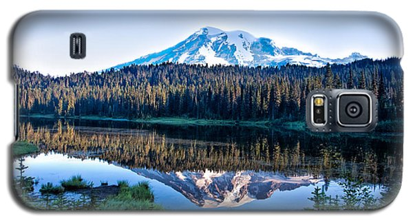 Sunrise At Reflection Lake Galaxy S5 Case