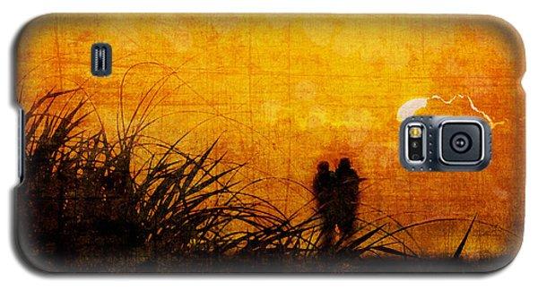 Sunrise Couple Galaxy S5 Case