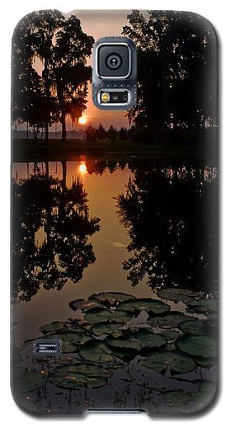 Sunrise From My Pad Galaxy S5 Case by Dan Wells