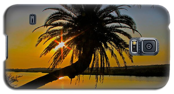 Galaxy S5 Case featuring the photograph Sunrise On The Loop by Alice Gipson