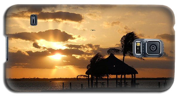 Galaxy S5 Case featuring the photograph Sunrise Over Bay by Clara Sue Beym