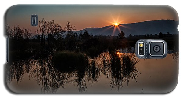 Sunrise Over The Beaver Pond Galaxy S5 Case