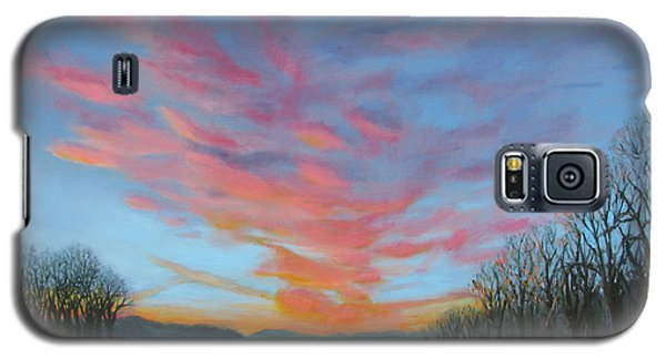 Sunrise Over The Highway Galaxy S5 Case