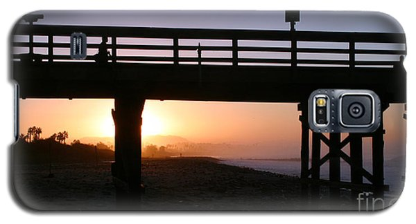 Sunrise Pier Ventura Galaxy S5 Case