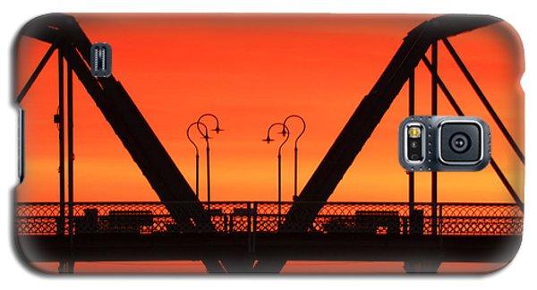Sunrise Walnut Street Bridge Galaxy S5 Case