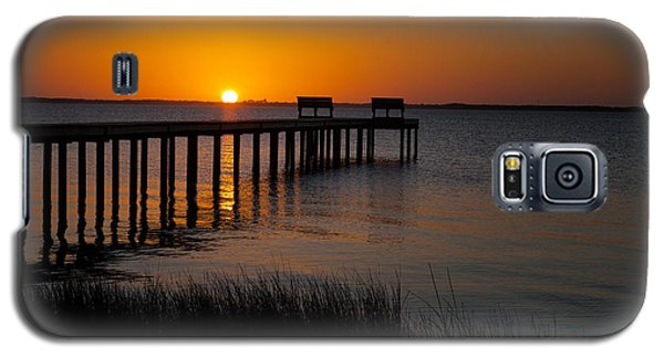 Sunset Across Currituck Sound Galaxy S5 Case