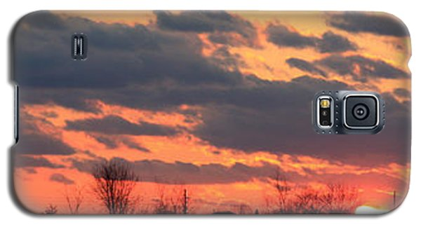 Galaxy S5 Case featuring the photograph Sunset After The Storm by Ann Murphy