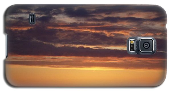 Galaxy S5 Case featuring the photograph Sunset At Surfside 4 by Peter Mooyman