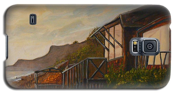 Sunset At The Beach House Galaxy S5 Case by Terry Taylor