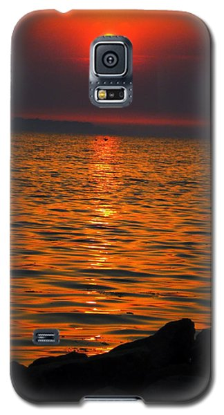 Galaxy S5 Case featuring the photograph Sunset by Colette V Hera  Guggenheim