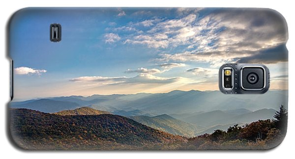 Galaxy S5 Case featuring the photograph Sunset From The Bald by Dan Wells