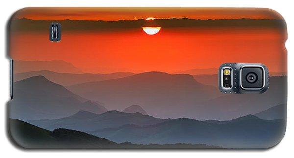 Sunset In Balkans Galaxy S5 Case