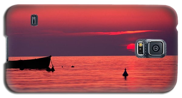 Galaxy S5 Case featuring the photograph Sunset In Elba Island by Luciano Mortula