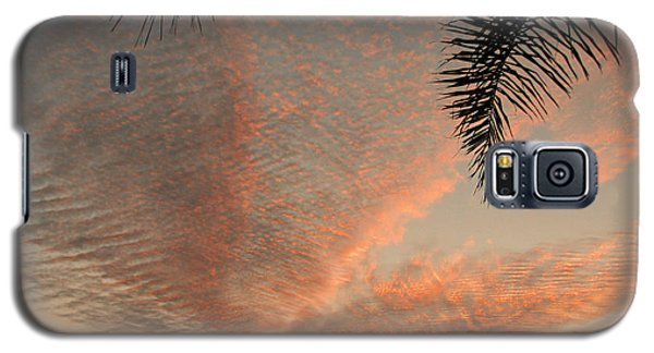 Sunset In Lace Galaxy S5 Case