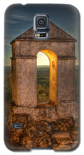 Sunset In Monfrague Castle Galaxy S5 Case