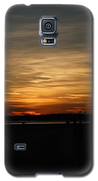 Galaxy S5 Case featuring the photograph Sunset In Pastels by Fotosas Photography