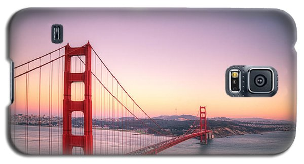 Sunset In San Francisco Galaxy S5 Case by Jim And Emily Bush