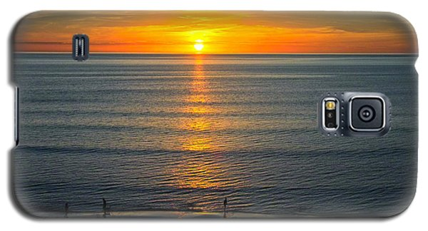 Sunset - Moana Beach - South Australia Galaxy S5 Case by Jocelyn Kahawai