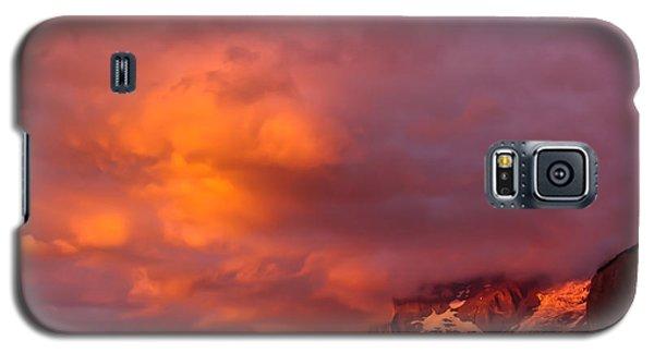 Sunset Murren Switzerland Galaxy S5 Case