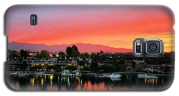 Sunset On Lake Havasu Galaxy S5 Case