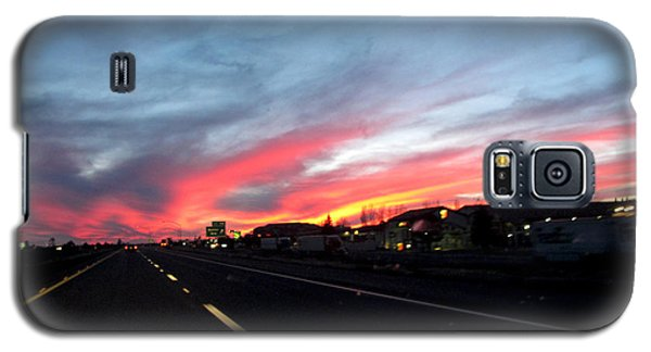 Sunset On Route 66 Galaxy S5 Case