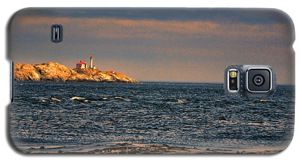 Sunset Over British Columbia Galaxy S5 Case