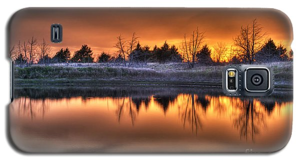 Sunset Over Bryzn Galaxy S5 Case