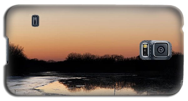 Sunset Over The Republican River Galaxy S5 Case
