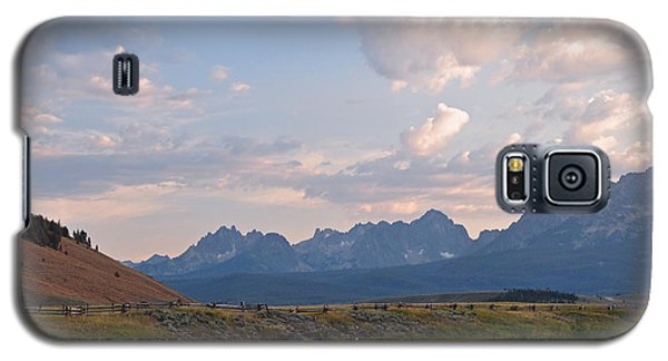 Sunset Over The Salmon River Galaxy S5 Case