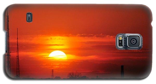 Sunset Over Washington Dc Galaxy S5 Case