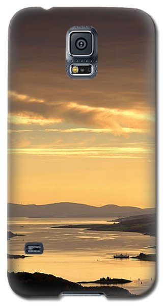 Sunset Over Water, Argyll And Bute Galaxy S5 Case