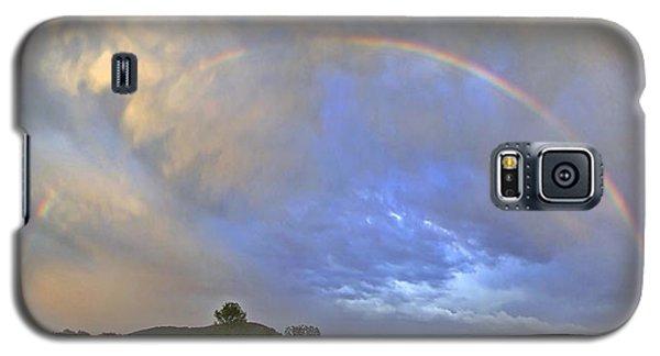 Sunset Rainbow Galaxy S5 Case