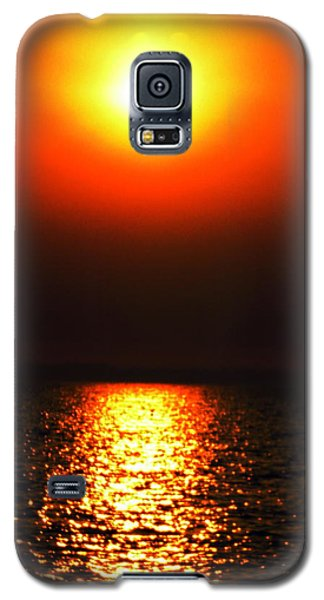 Galaxy S5 Case featuring the photograph sunset Santorini Greece by Colette V Hera  Guggenheim