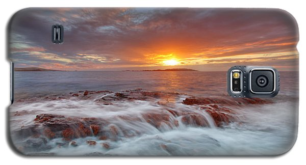 Sunset Tides - Cemlyn Galaxy S5 Case