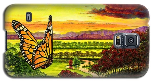 Sunshine Traveler-monarch Galaxy S5 Case